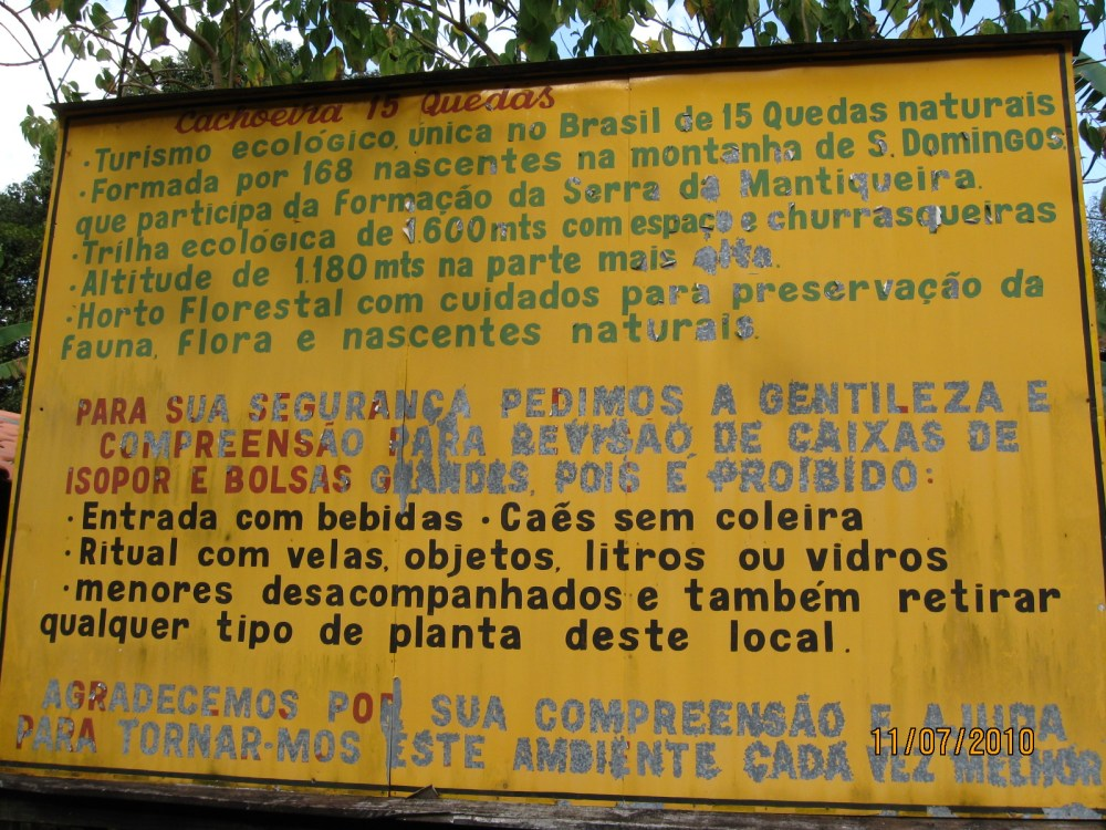 Cachoeira das 15 Quedas - Congonhal/MG (1/5)