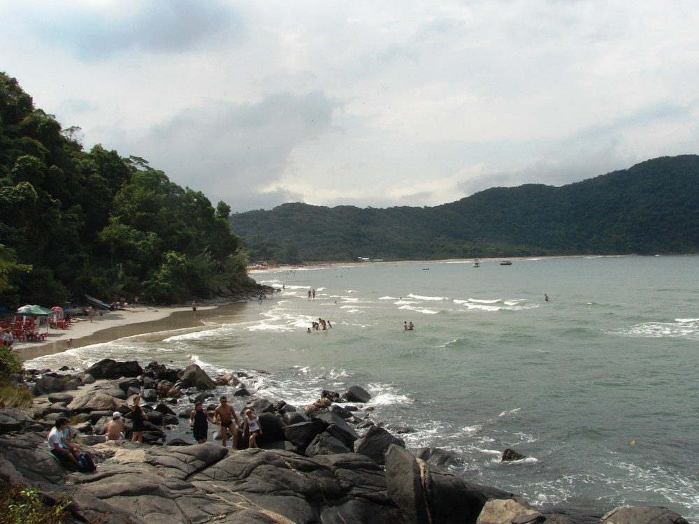 Prainha Branca - Bertioga-Guarujá/SP (1/4)
