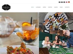 Diseño web Mallorca - Restaurante La Parada Palma