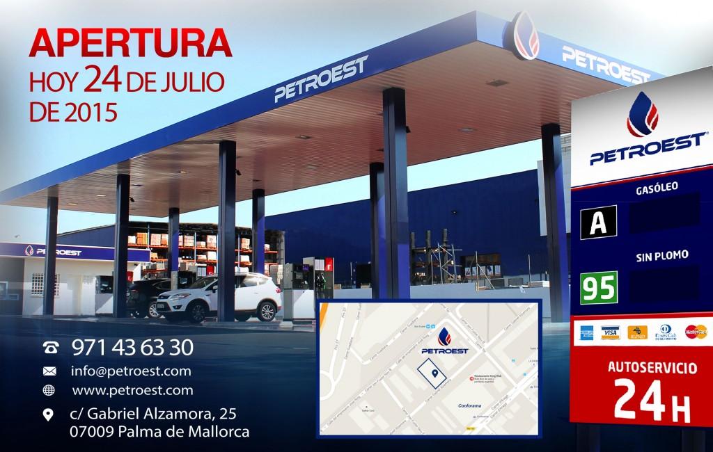 Gasolina Barata en Palma, Petroest.