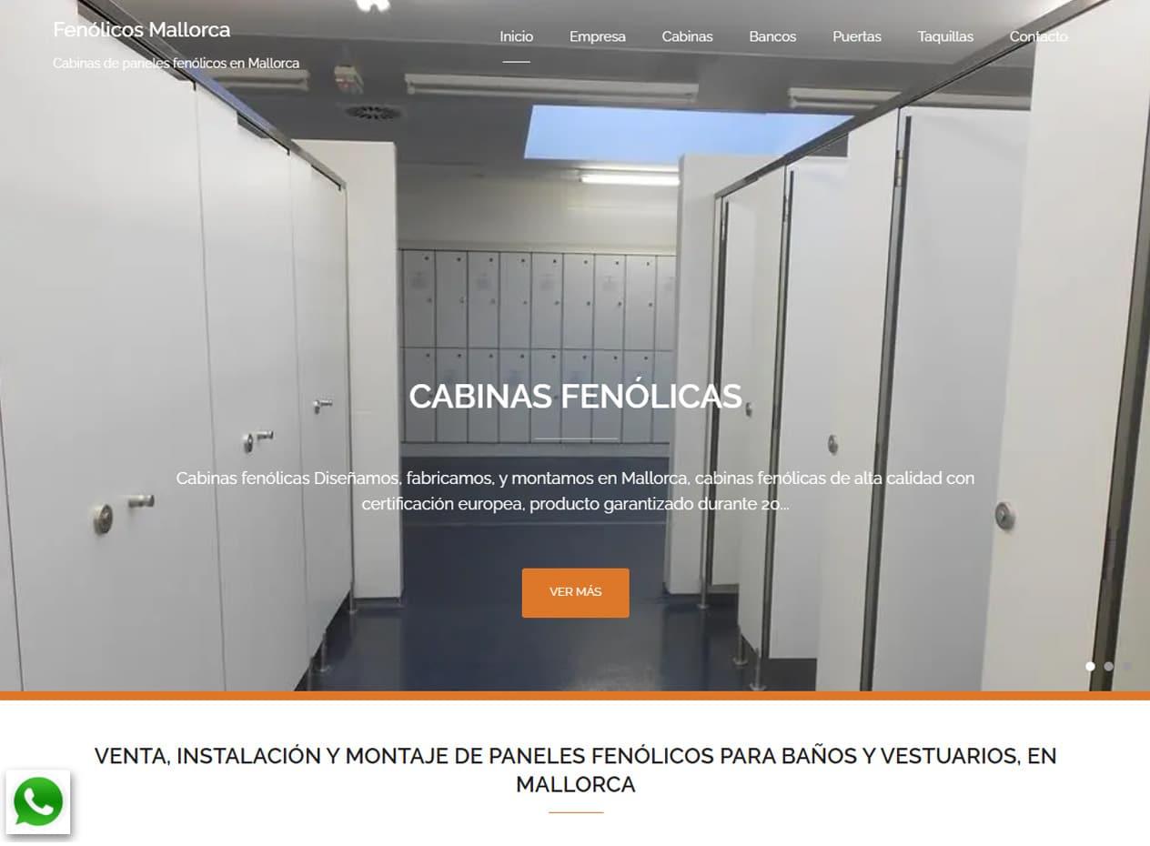 Diseño web para carpinterías en Mallorca - Fenólicos Mallorca