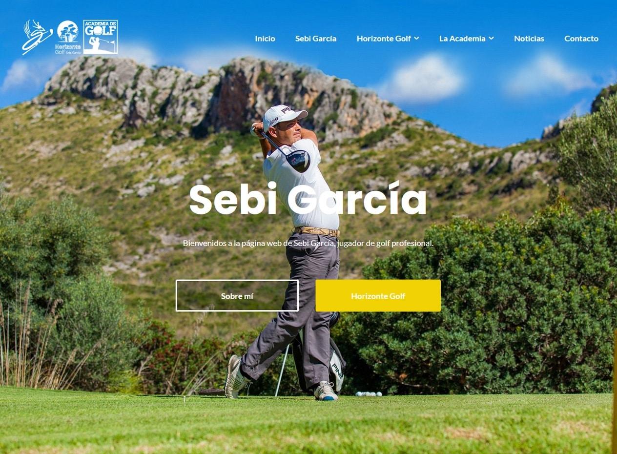 Desarrollo web para deportistas profesionales - Sebi García