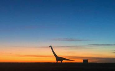 Dinossauro em Trelew