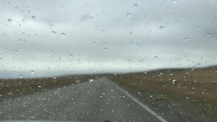 Estrada Rio Gallegos a El Calafate com chuva