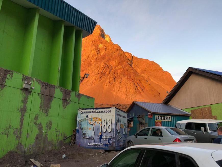 Onde comer na Cordilheira dos Andes