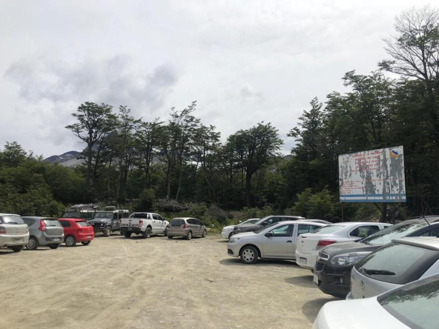estacionamento laguna esmeralda