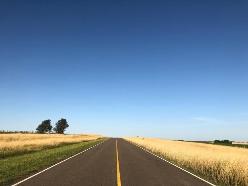 estrada na serra argentina