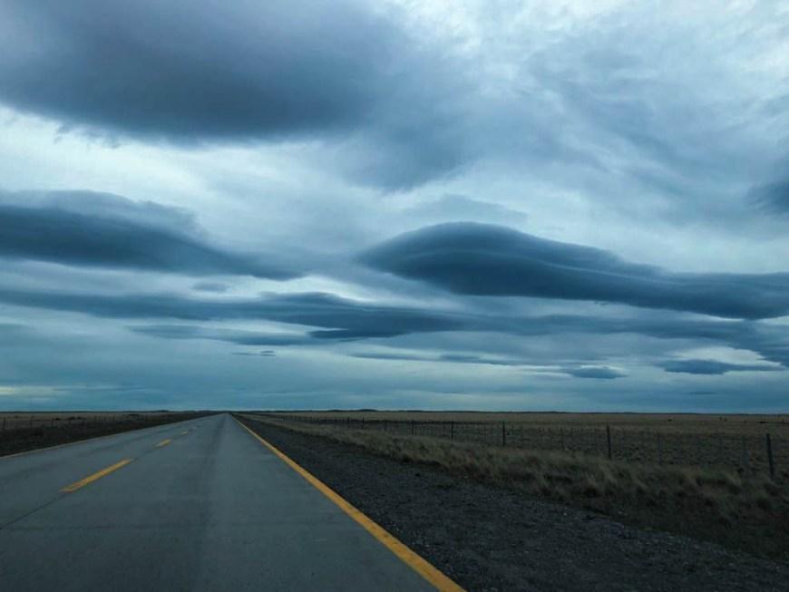 nuvens patagonia