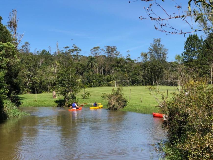 Rio para pratica de caiaque