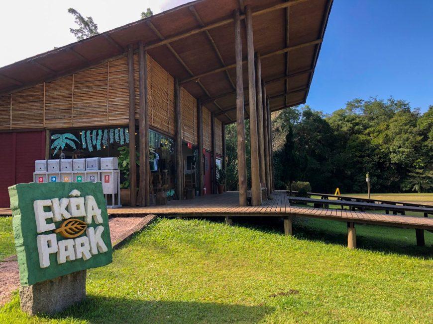 estrutura de recepcao ekoa park