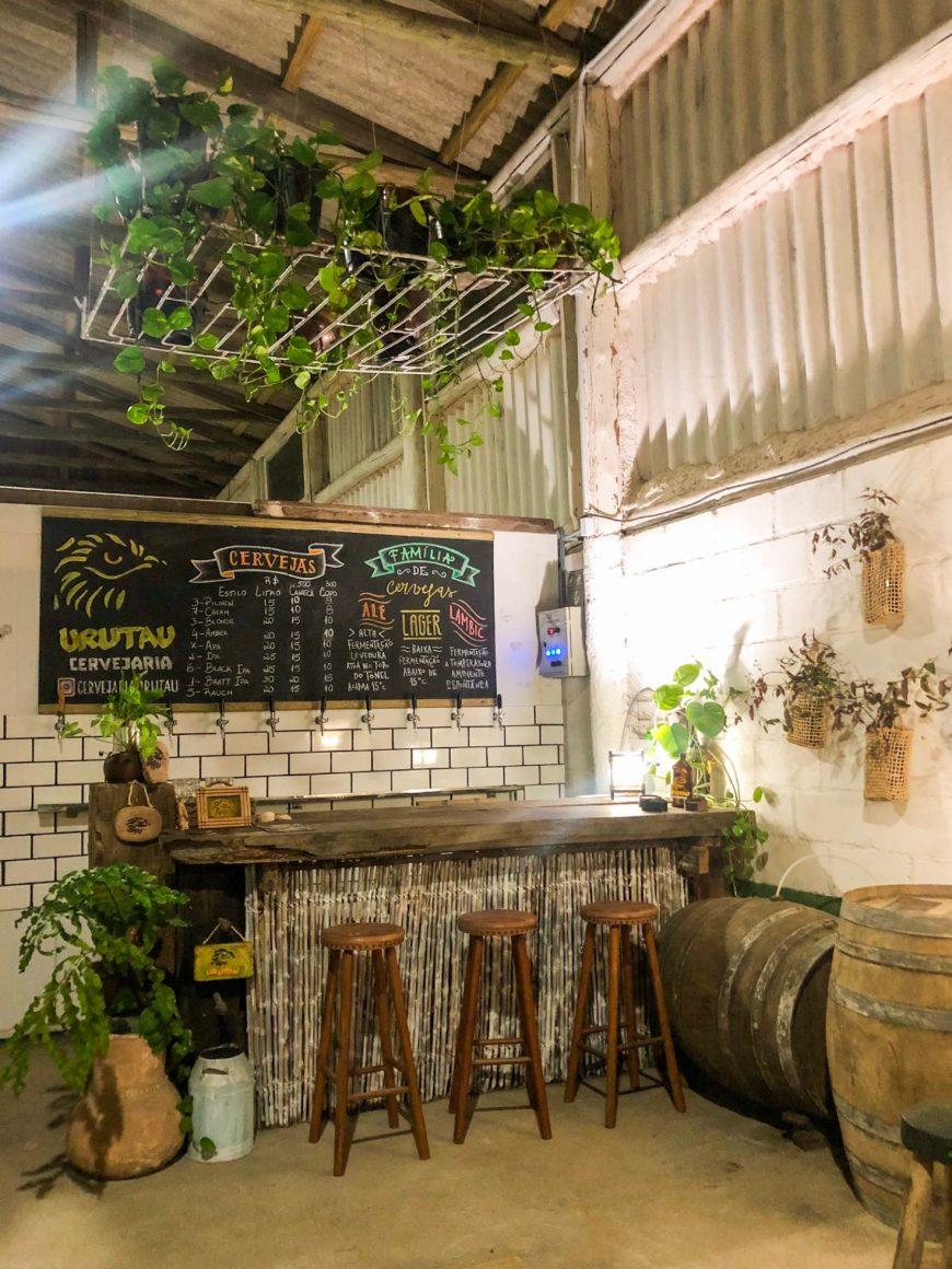 Bar da fábrica Urutau