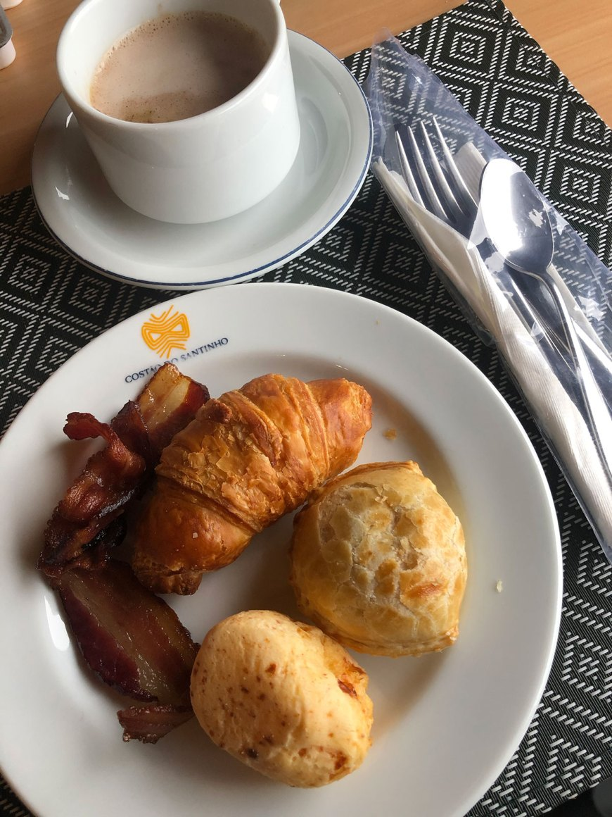 Café da manhã no Costão