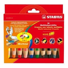 Colores Woody Stabilo x10