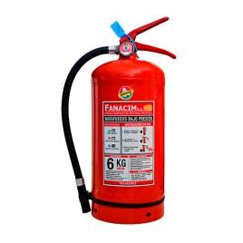 Extintor de polvo químico seco tipo ABC de 6Kg