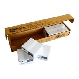Tarjetas de PVC Zebra CR80, caja de 500 unidades