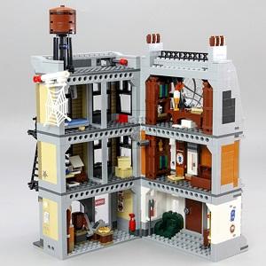 NO. 07107 – Super Scort (Incluye Dr. Stranger, Ironman, Iron Spiderman, Ebony Maw, más una gran figura de Cull Obsidian y El Edificio) +7 Años 1.125 Piezas 430 Bs con envío a domicilio sin costo adicional