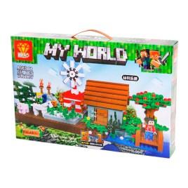 Juego de construcción ZB9937 My World Granja