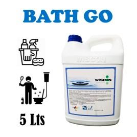 Desincrustante y desinfectante quita-sarro CON AROMA Wiscon BATH GO