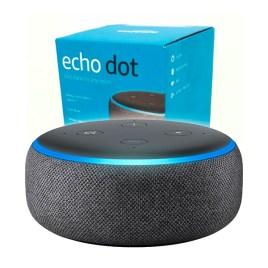 Alexa EchoDot 3ª generación, altavoz inteligente color antracita