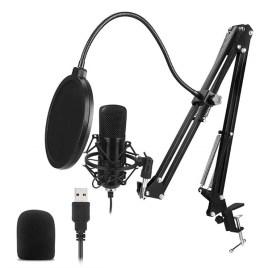 Micrófono de condensador USB Mayoga con brazo