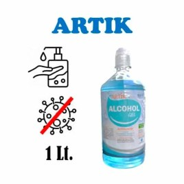 Alcohol neutro en gel Wiscon Artik Plus, 1 litro