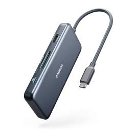 Hub USB-C Anker, PowerExpand+ 7 en 1