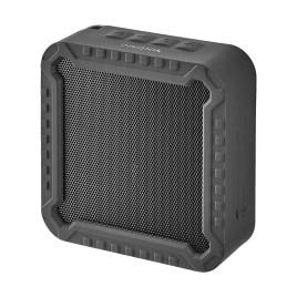 Parlante Bluetooth portátil Insignia color negro, 6 horas de batería y resistente al agua