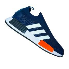 Zapatilla deportiva para varón, color azul oscuro con planta blanca