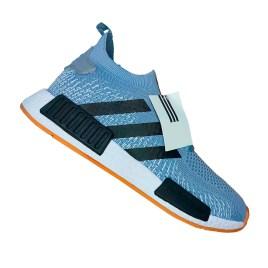 Zapatilla deportiva para varón, color azul con planta blanca