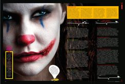 Layout design for Mixam magazine with girl