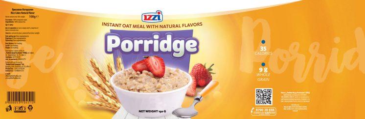 porridge for Izzi package