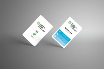 global food company business cards