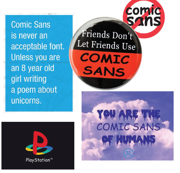 comic sans and friendship