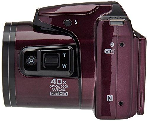 Nikon Coolpix B500 Cámara Digital con Zoom (Morada) - VendeTodito
