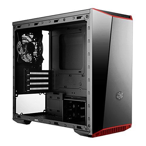 Cooler Master Gabinete para PC, Mini Torre con Panel Frontal de Espejo Oscuro, Panel Lateral de Acrílico, y Colores de Ajuste Personalizables - VendeTodito