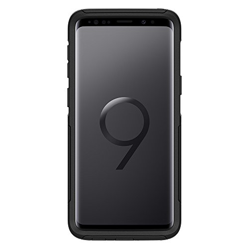 OtterBox COMMUTER SERIES Case for Samsung Galaxy S9 - Retail Packaging - BLACK - VendeTodito