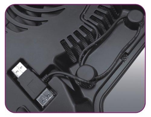Cooler Master NotePal X-Slim - Base para Laptop Ultra-Delgada con Ventilador de 160mm - VendeTodito