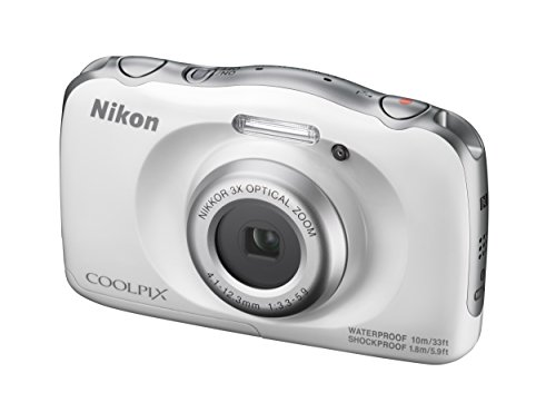 Nikon Coolpix W100 Cámara Acuática digital, Blanca - VendeTodito