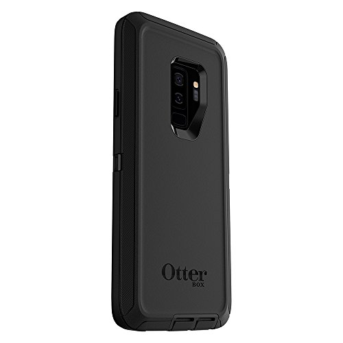 OtterBox DEFENDER SERIES Case for Samsung Galaxy S9+ - Frustration Free Packaging - BLACK - VendeTodito