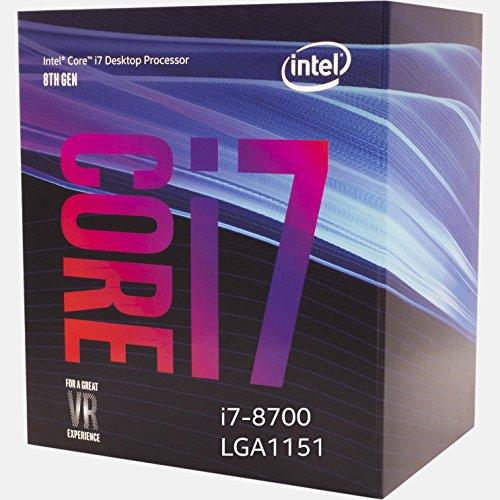 Intel BX80684I78700 Processor 8th Gen Core i7-8700 - VendeTodito