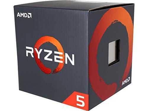 AMD YD2600BBAFBOX Processor with Wraith Stealth Cooler, AMD Ryzen 5 2600 - VendeTodito