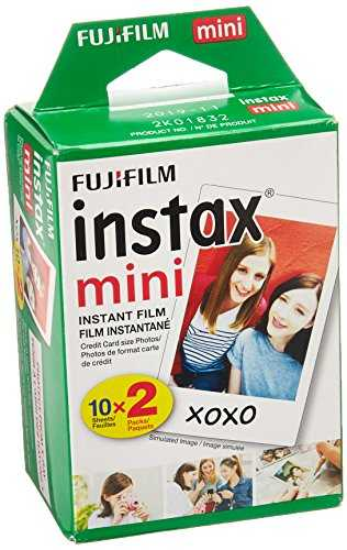 Fujifilm INSTAX Mini Instant Film Twin Pack (White) - VendeTodito