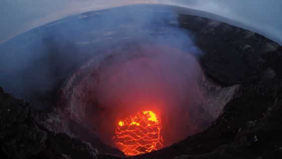 Las imágenes del volcán Kilauea de Hawaii muestran el poder destructivo de la naturaleza en acción