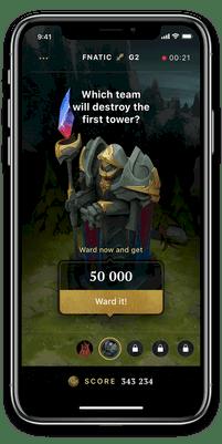 WARD es una aplicación para realizar apuestas de fantasía en juegos de eSports - VendeTodito