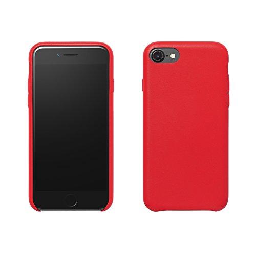 Amazon Basics Estuche Delgado para iPhone 7 (Rojo) - VendeTodito