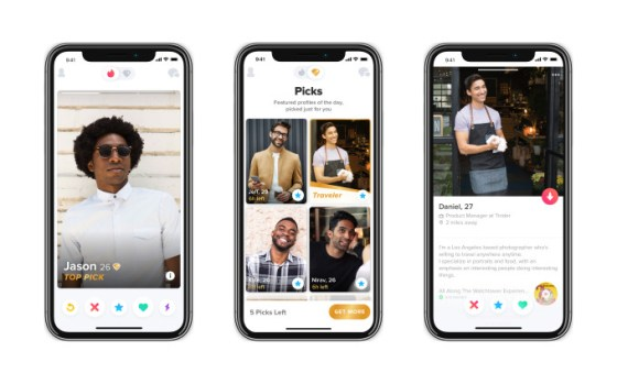 Tinder toma Coffee Meets Bagel con prueba de Tinder Picks