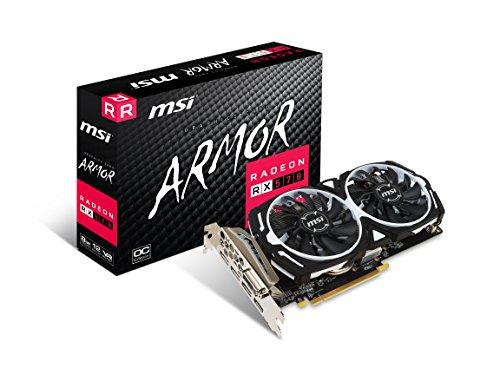 MSI Radeon RX 570 ARMOR 8G OC Radeon RX 570 8GB GDDR5 - Tarjeta gráfica (Radeon RX 570, 8 GB, GDDR5, 256 Bit, 7000 MHz, PCI Express x16 3.0) - VendeTodito