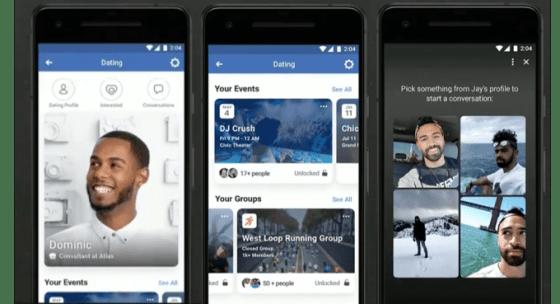 Facebook Dating será una característica, no una aplicación; aquí hay un vistazo