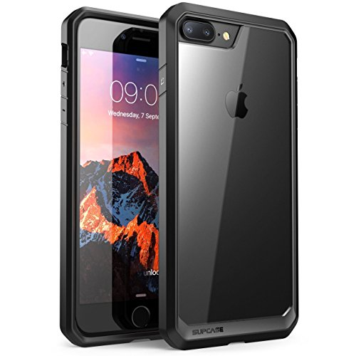 SUPCASE iPhone 8 Plus Funda, Unicorn Beetle Series Premium Carcasa híbrida Funda Transparente para Apple iPhone 7 Plus 2016/iPhone 8 Plus 2017 liberación (Frost/Negro) - VendeTodito