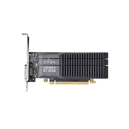 EVGA 02G-P4-6332-KR GeForce GT 1030 2GB GDDR5 - Tarjeta Gráfica (GeForce GT 1030, 2 GB, GDDR5, 64 bit, 7680 x 4320 Pixeles, PCI Express 3.0) - VendeTodito